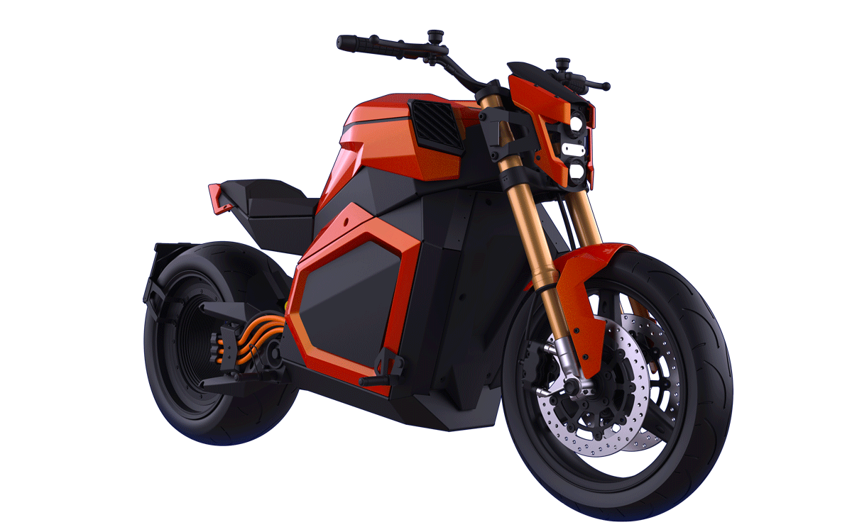 Moto électrique roadster Verge Motorcycles