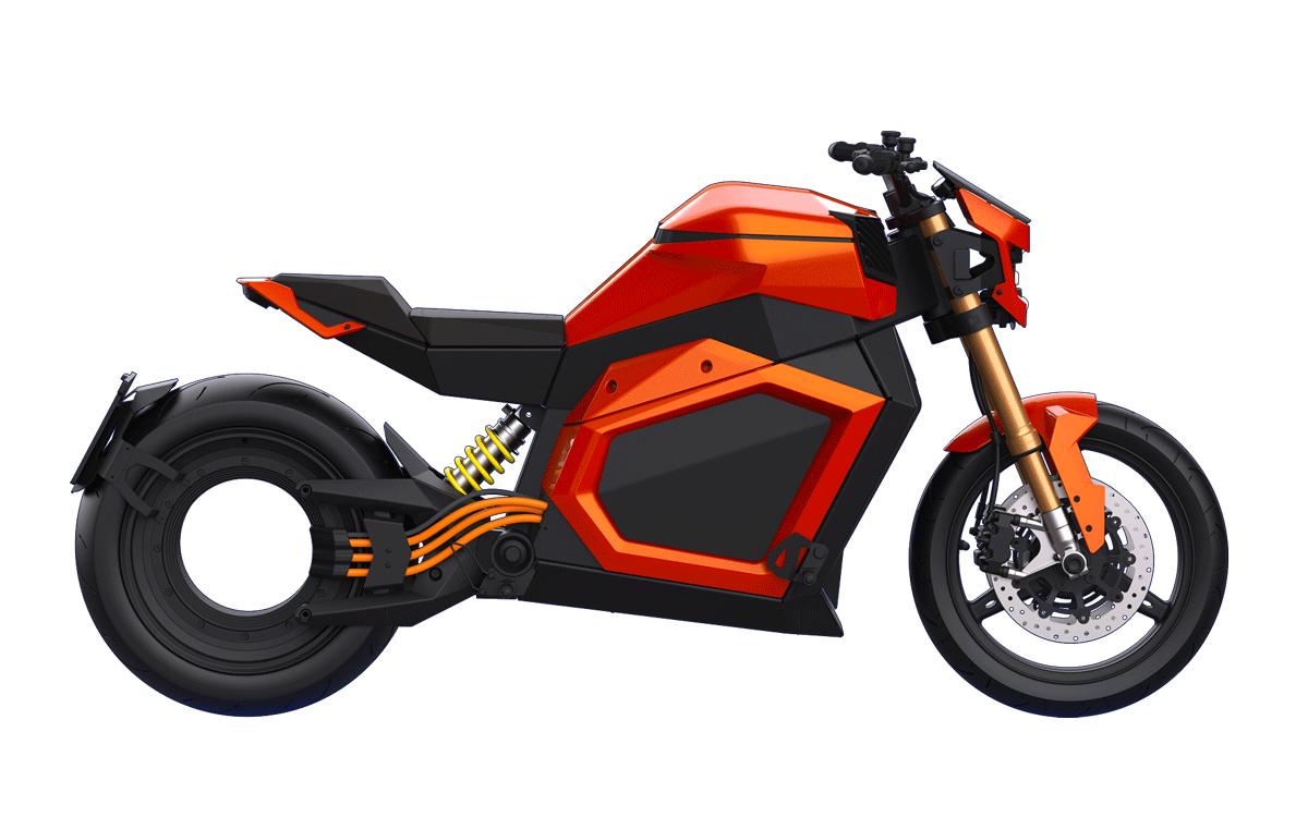 Moto électrique Verge Roadster