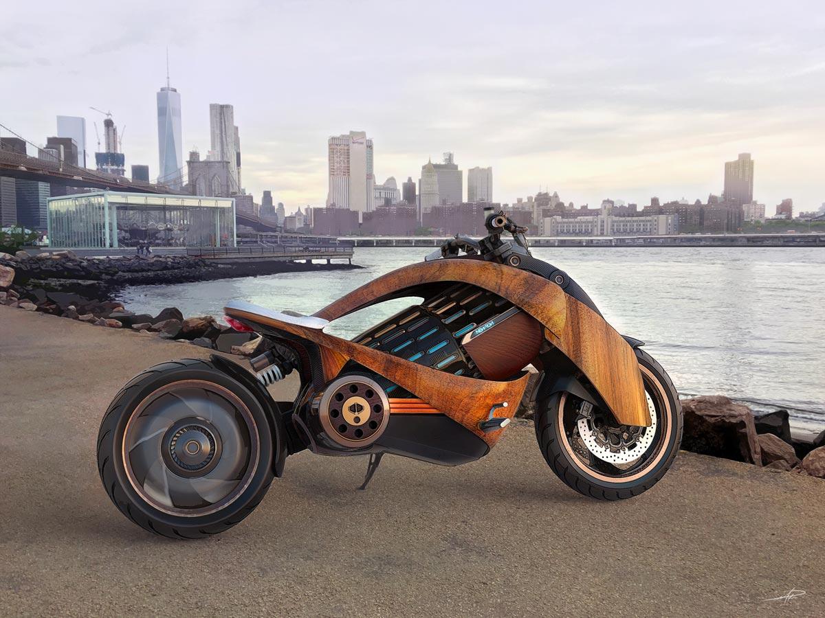 Moto électrique Newron EV-1