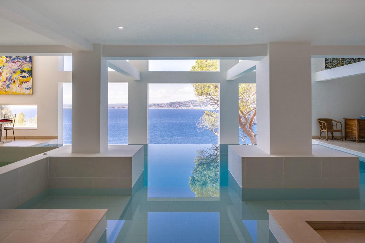 Villa Roc Fleuri Cap de Nice piscine