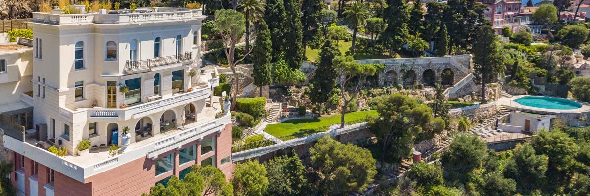 Villa Roc Fleuri Cap de Nice vue panoramique