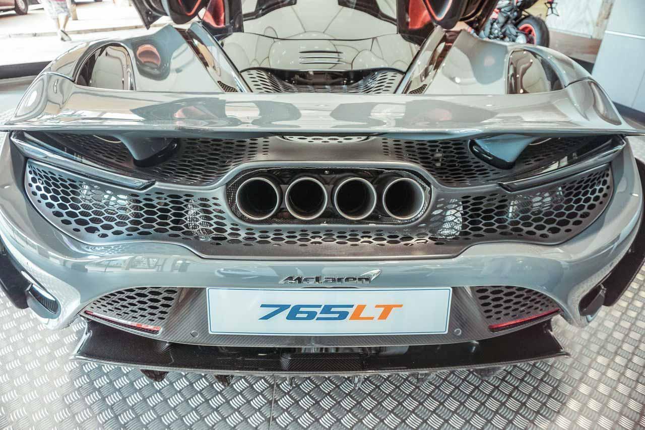 vue arrière McLaren 765LT
