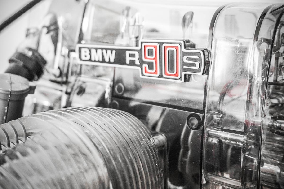 maquette moteur bmw R90 S Franzis