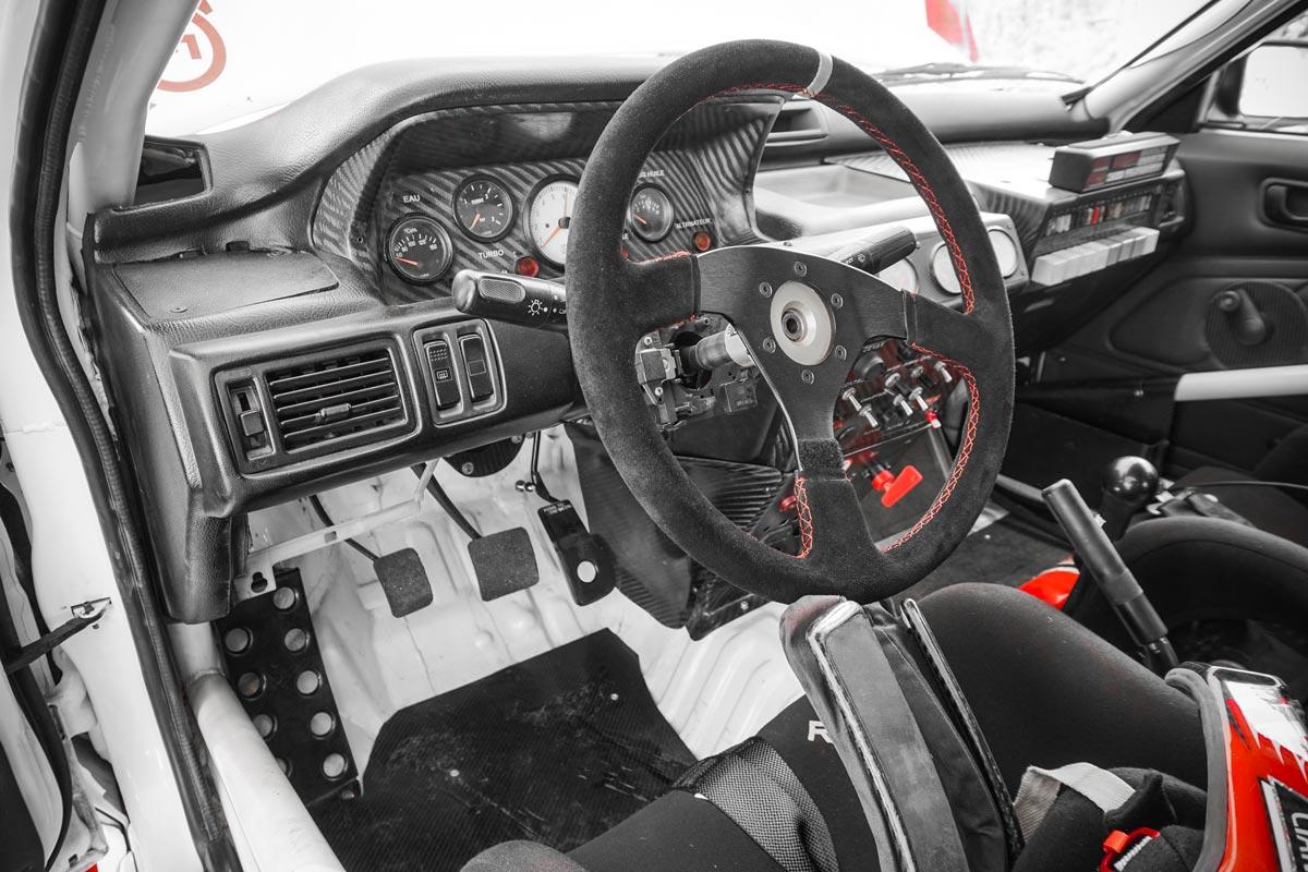 Intérieur Mitsubishi Galant VR-4 Gr.A