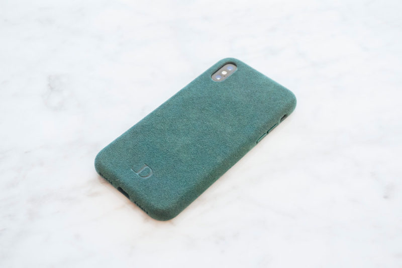 Longvadon coque Alcantara Iphone