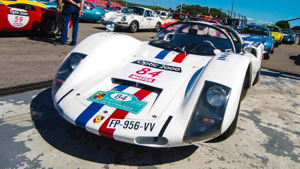 Porsche 906 Carrera 6 Tour Auto Optic2000