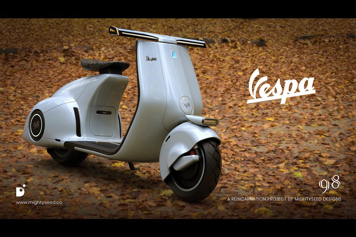 Vespa Mightyseed Designs avant
